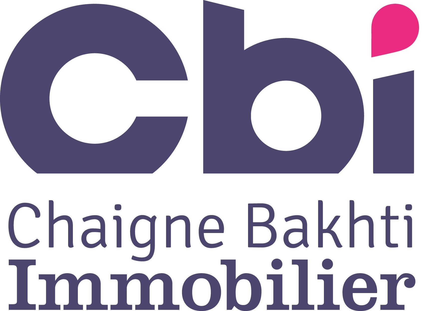 logo de l'agence CHAIGNE BAKHTI IMMOBILIER SIGLE CBI